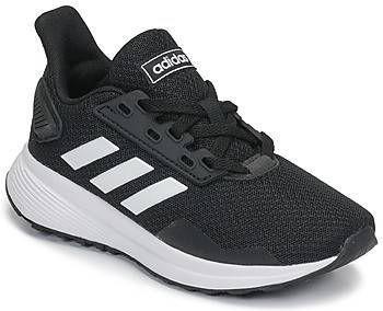 Adidas Performance Duramo 9 K hardloopschoenen zwart/wit kids