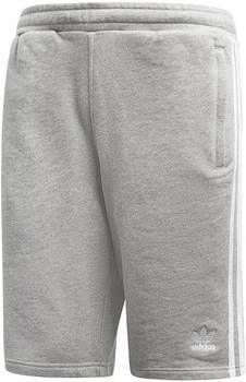 Adidas Originals 3-Stripes Fleece Shorts Heren Grijs Heren