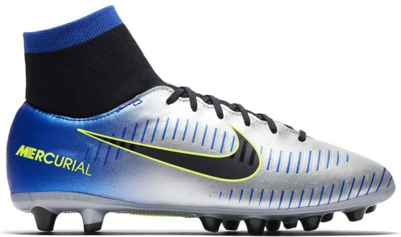 promo code fb878 fa168 Nike Neymar Jr Mercurial Victory VI Dynamic Fit AG Pro Racer Blue Kids